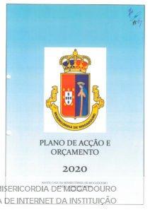 PLANO DE ACÇÃO E ORÇAMENTO 2020